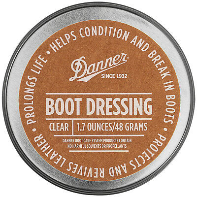 Danner Boot Dressing, Protects & Revives Leather (1.7 oz  Black, Brown, Clear)