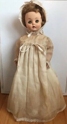 "Vtg 21"" Madame MME Alexander Marybel Doll Rare Short Hair 50s 60s"
