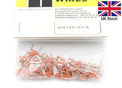 Pre-Cut Wire Jumper 7.62mm (200 pcs) - 3M Breadboard Prototyping - UK Stock