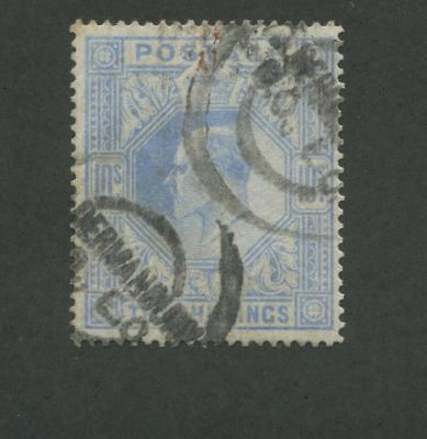 1902 Great Britain Stamp # 141 Used Cat value is $525 USD, almost £400 Lot 2MB21
