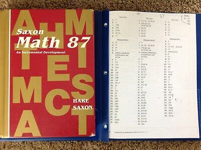 Saxon math 87 1st edition student textbook answer key 1800 saxon math 87 1st edition student textbook answer key fandeluxe Gallery