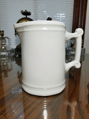 K. T. & K. China Ironstone Pitcher-Knowles Taylor & Knowles-6 5/8 Inches Tall