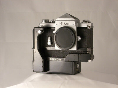 Nikon F with Motor Drive F-36 and Battery Pack