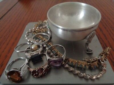 Sterling Silver Scrap or Not Lot of Beautiful Mixed Jewelry Pieces !!!! and MORE
