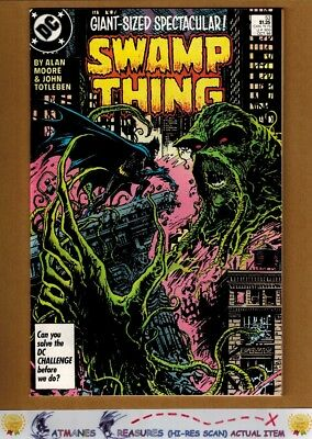 Swamp Thing #53 (9.4) NM Batman Appearance 1986 Copper Age By Alan Moore