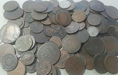 1800's MIXED FORIEGN COINS COLLECTION*** OLD ESTATE LOT #1