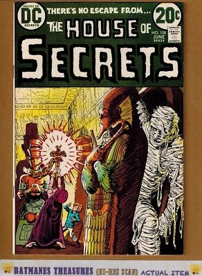 House of Secrets #108 (8.5) VF+ Jack Sparling Cover 1973 Bronze Age Key Issue
