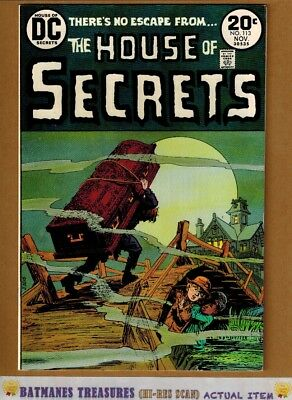 House of Secrets #113 (9.2-9.4) NM Jack Sparling Cover 1973 Bronze Age Key Issue