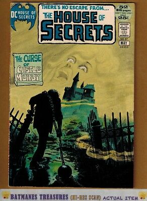 House of Secrets #97 (6.5) Fine+ Painted Cover By Jack Sparling 1972 Bronze Age