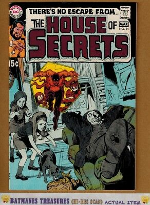 House of Secrets #84 (8.0-8.5) VF+ Neal Adams Cover 1970 Bronze Age Key Issue