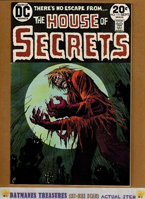 House of Secrets #111 (9.0-9.2) NM- Nick Cardy Cover 1973 Bronze Age Key Issue