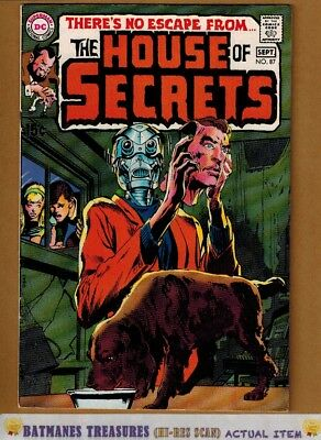 House of Secrets #87 (9.0-9.2) NM- Neal Adams Cover 1970 Bronze Age Key Issue