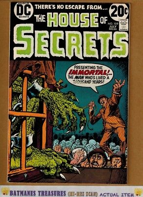 House of Secrets #109 (8.5) VF+ Nick Cardy Cover 1973 Bronze Age Key Issue