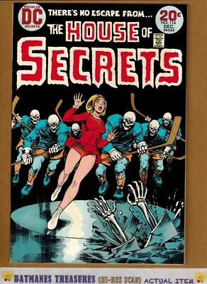 House of Secrets #114 (9.2) NM- Nick Cardy Cover 1973 Bronze Age Key Issue