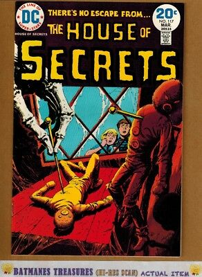 House of Secrets #117 (9.4-9.6) NM+ By Luis Dominguez 1974 Bronze Age Key Issue