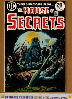 House of Secrets #112 (9.0) VF/NM Luis Dominguez Cover 1973 Bronze Age Key Issue