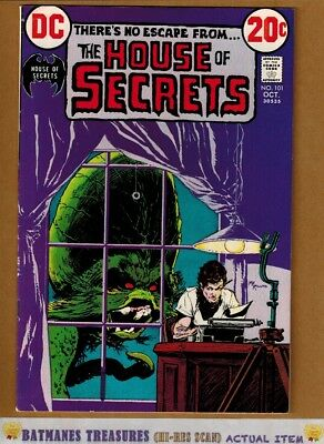 House of Secrets #101 (8.5) VF+ Mike Kaluta Cover 1972 Bronze Age Key Issue
