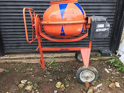 electric cement mixer 240 Volts Large Lescha