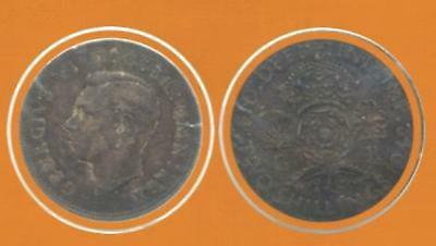 1942 Great Britain Two Shillings-Georges VI Silver Coin-Lot:187