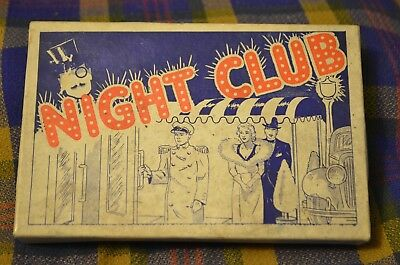 Vtg 1939 H.FISHLOVE & CO Chicago 717 NIGHT CLUB Funny/Gag Gift Boxed Rolling Pin