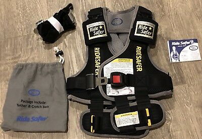Ride Safer 2 Travel Vest Size Small