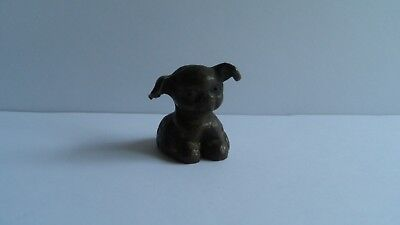 Vintage Miniature Hubley(?) Puppy Dog Fido Adorable!