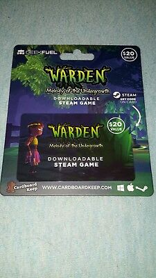 WARDEN Melody Of The Undergrowth Geek Fuel Downloadable Steam Game New DLC