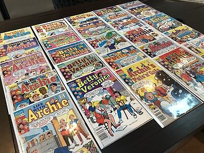 Archie Comics - Higher-Grade Copper-Age 26-comic Lot