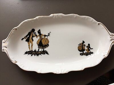 Royal Adderley Pottery Pin Dish Courting Couple