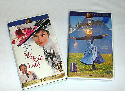 Two Academy Award Winning Movies On Vhs In Hi-Fi Stereo And Digitally Mastered