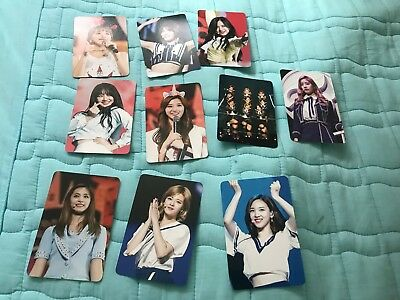twice 트와이스 pop up store limited 2 ver photocard photo card  choose one