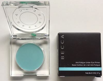 Becca Anti Fatigue Under Eye Primer Cooling Balm .13 Oz 3.7G $32 Full Size Boxed