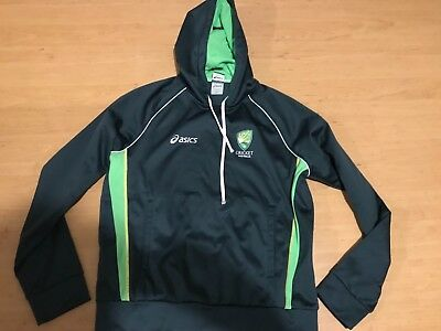 cricket Australia one day warm up hoodie adults size large