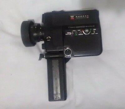 Vintage Canon 514XL-S Canosound Super 8 Film Video Camera AS-IS