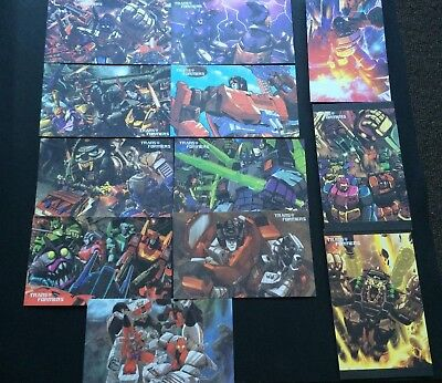 Vintage Transformers Card Set | Very Good Condition