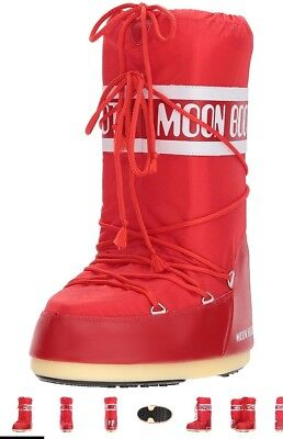 Mens Moonboots EU42/44 - Used - Excellent Condition - Red
