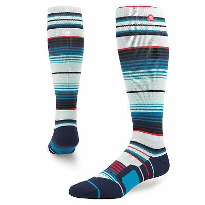 Stance Inyo Grey Heather Mens 9-12 USA All Mountain Snowboard Socks