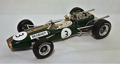 Spark 18S223 - Repco Brabham BT19 car #3 Jack Brabham 1966 German F1 Grand Prix