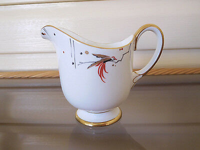 "Paragon Art Deco Stylised ""Oriental Bird"" Milk Jug F347 England 1920-1939 Rare"