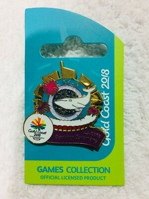 Commonwealth Games 2018 Opening Ceremony pin - extremely rare & collectable!