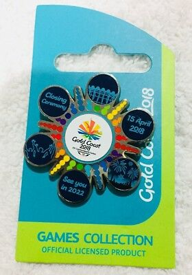 Commonwealth Games 2018 Closing Ceremony pin - extremely rare & collectable!