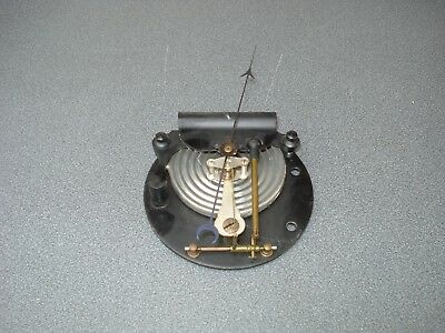 "Large Aneroid Barometer Movement & Pointer For 8"" Dial Parts Spares"