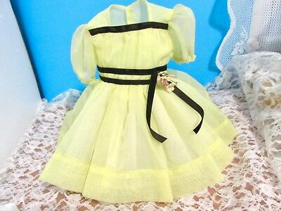 Shirley Temple Doll Dress Tagged Original  For 19Inch Doll Minty