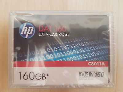 HP C8011A 160 GB DAT160 Data Cartridge - NEU & UVP!