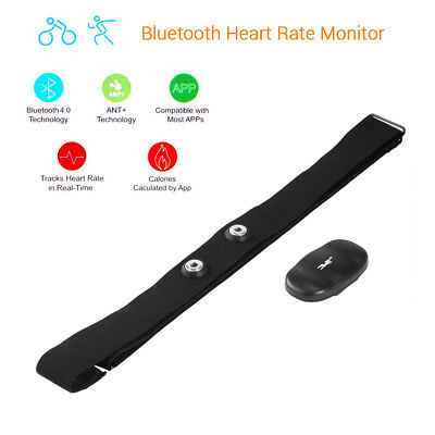 Chest Strap Smart Wireless Bluetooth Heart Rate Monitor Sports For Mobile Phone