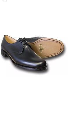 NEW Sanders Derby Officer Military Style UK 11 MADE in UK no Church Tricker