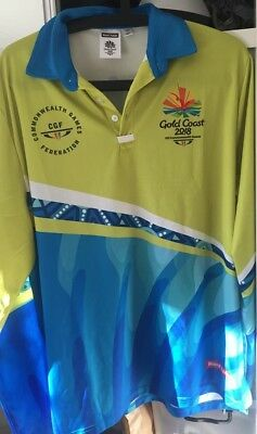 Commonwealth Games 2018 Game Shapers Uniform Shirt - new XL