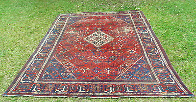 Antique Room Size Djoshaghan Pile Rug Circa 1920