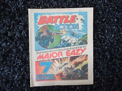 Battle Action Comic 14Th January 1978