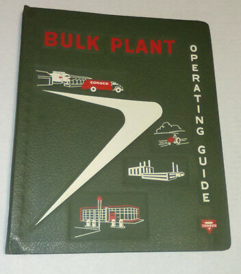 Vintage Conoco Bulk Plant Operating Guide 1957 Booklet, Free Shipping!!